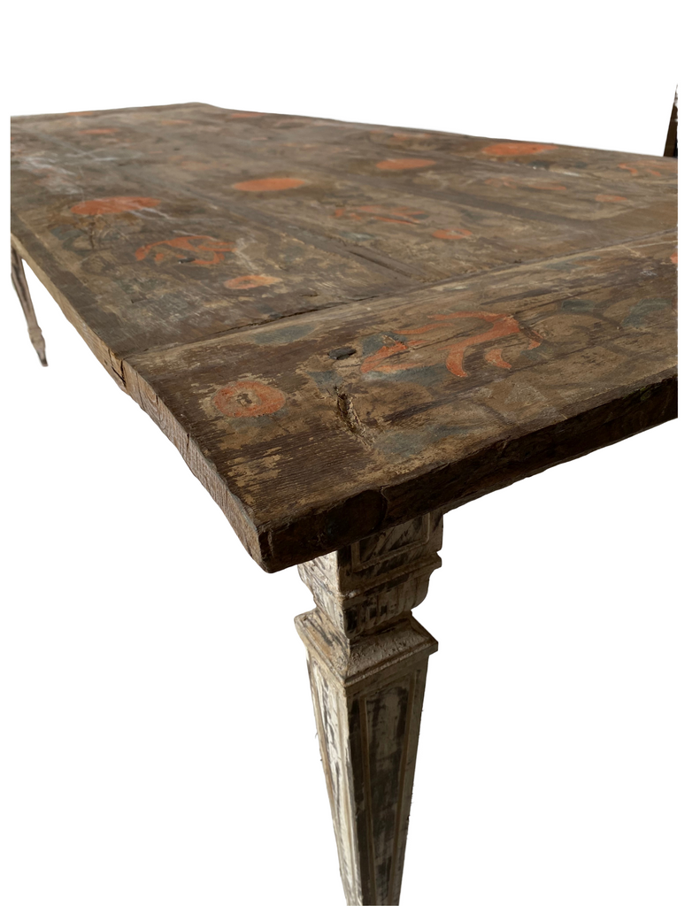 Work Table with Ceiling Motif