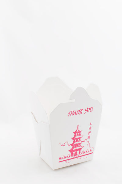 Chinese Food Container med Pagoda