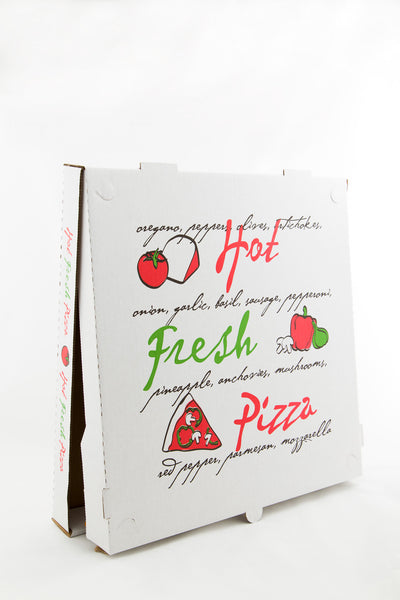 "Pizza Box Large, 16""x 16"" White"