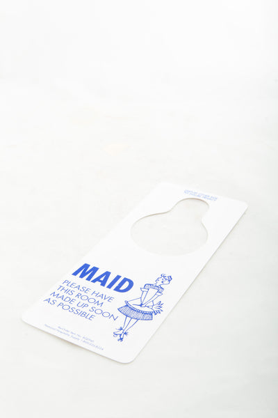 Do Not Disturb/Maid Service Door Hanger