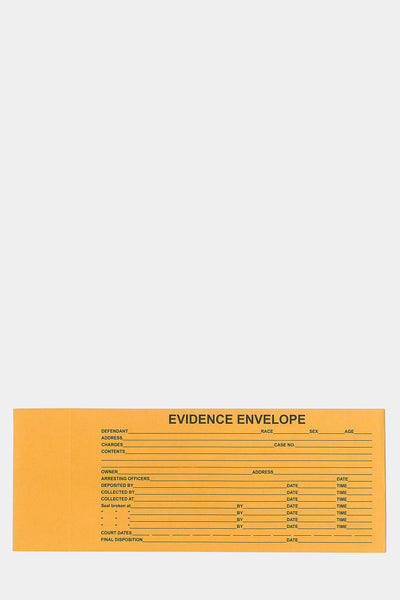"Paper Evidence Bag EE513 5""x 13"""
