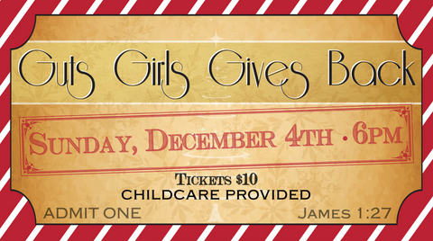 Guts Girls Gives Back Ticket