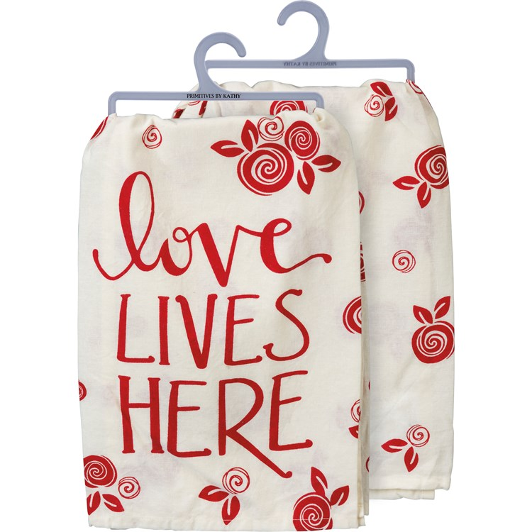 Dish Towel - Love Lives Here