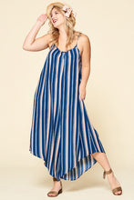 Load image into Gallery viewer, Sleeveless Stripe Printed Jumpsuit