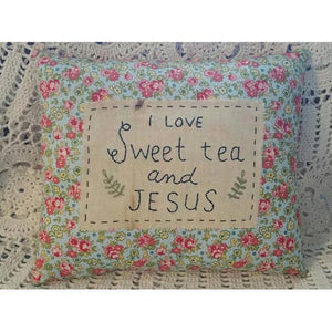 Handmade vintage style pillows