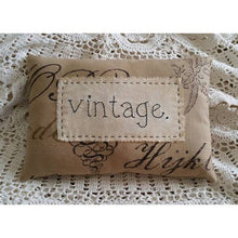 Load image into Gallery viewer, Handmade vintage style pillows