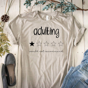 Adulting 1 Star Rating