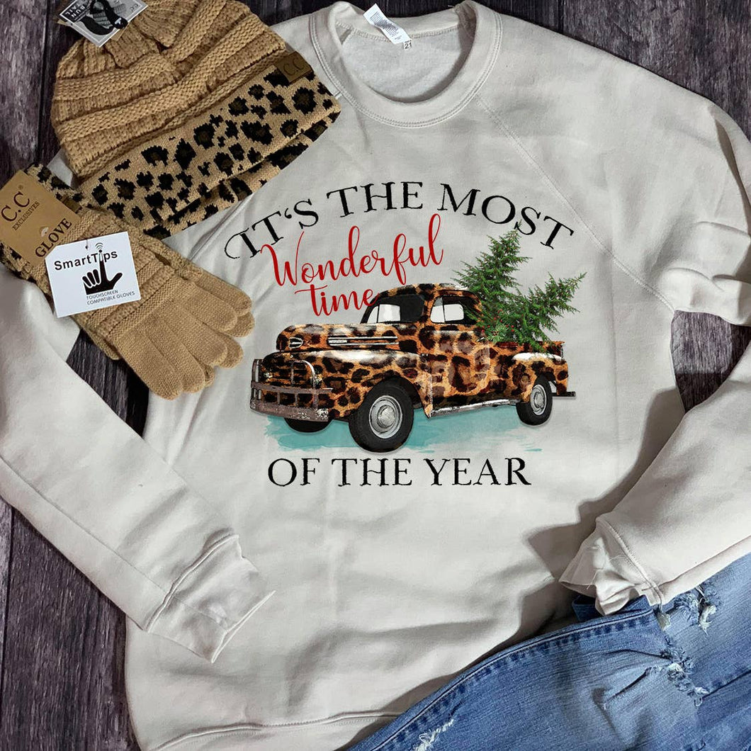Most Wonderful Time of the Year Truck Sweatshirt