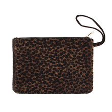 Load image into Gallery viewer, Oversized leopard print wristlet