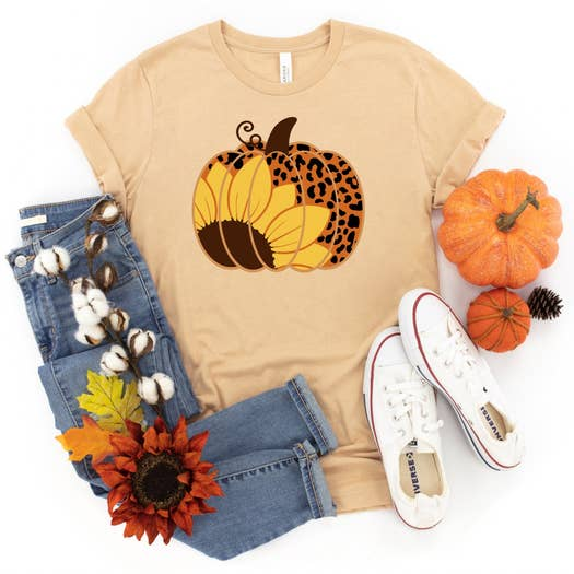 Pumpkin Sunflower Leopard