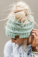 Load image into Gallery viewer, C.C Messy Bun Beanies