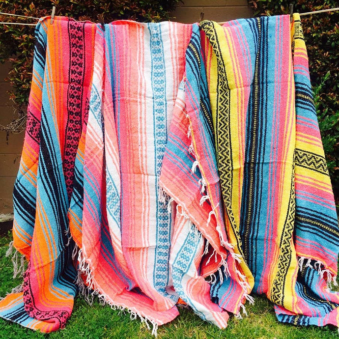 Mexican Throw Beach Blankets
