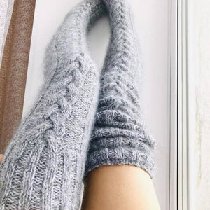 Winter Knitted Long Socks