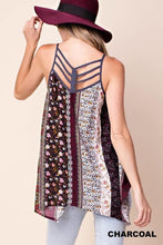 Load image into Gallery viewer, Strappy Back Boho Tank