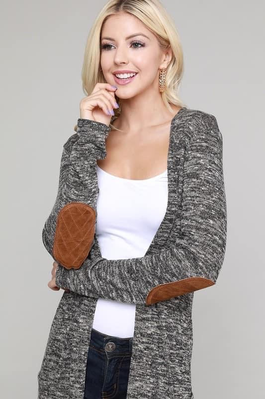 Elbow Patch Cardigans