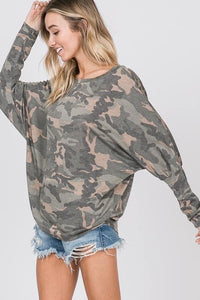 Camp Off Shoulder Top