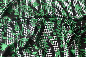 There Is Something About Green-  Viscose