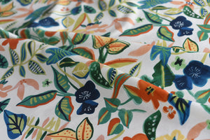 Print Palooza - My Kiddy Heart Is Shaken (Green) -  Cotton
