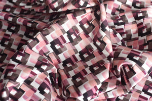 My Pink treasure map - Cotton Viscose