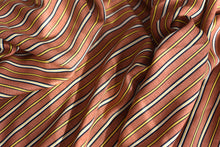 Load image into Gallery viewer, However you look at it, stripes are cool (Brown)-  Viscose
