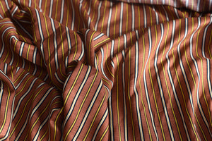 However you look at it, stripes are cool (Brown)-  Viscose
