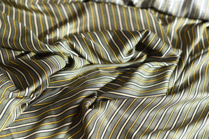 However you look at it, stripes are cool (Green)-  Viscose