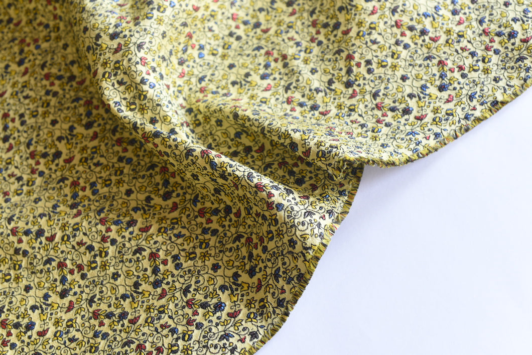 Microscopic Deliberations Are A Thing - Silk Viscose Polyester