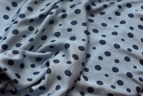 Of Dots and Stripes -  Viscose