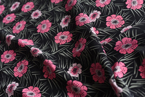 Pink Florals Among Other Things- Viscose