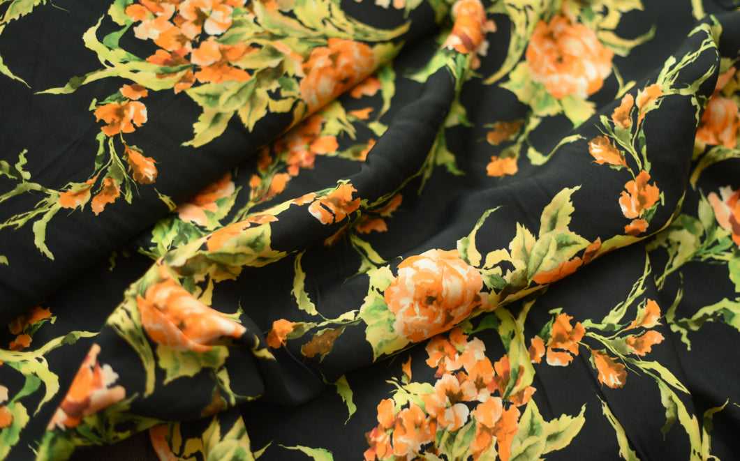 Pierre Orange Bouquet Garni -  Viscose