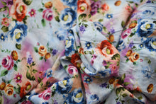 Load image into Gallery viewer, Gai Blue Floral Experiments  -  Viscose