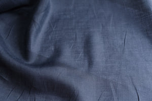 You need to whisper please (Navy) - Linen