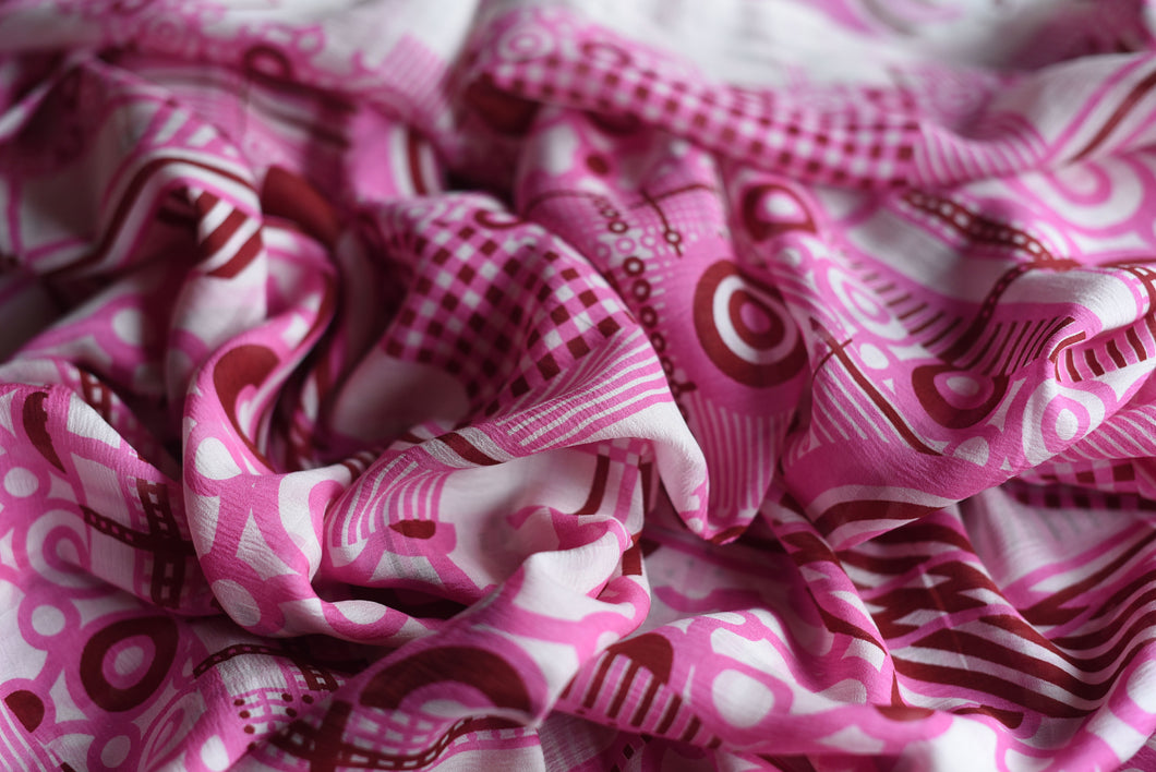 Homeschooling  is better with shapes (Pink) - Silk
