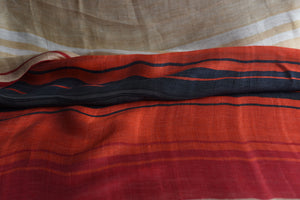 Stack the colourful lines please (Orange, Red)  - Silk (Panel)