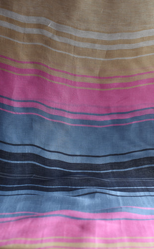 Stack the colourful lines please (Pink, blue)  - Silk (Panel)
