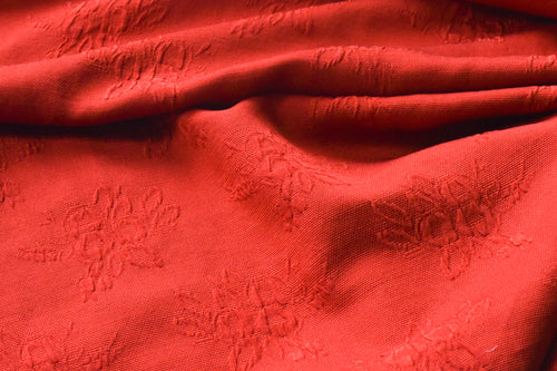 Raise The Bar Will You? (Red) -  Silk Wool