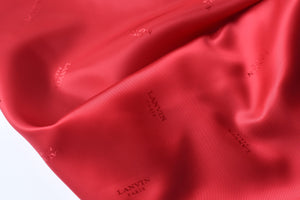 As I Mentioned Earlier, I Am Luxurious -  (Red) Viscose Lining