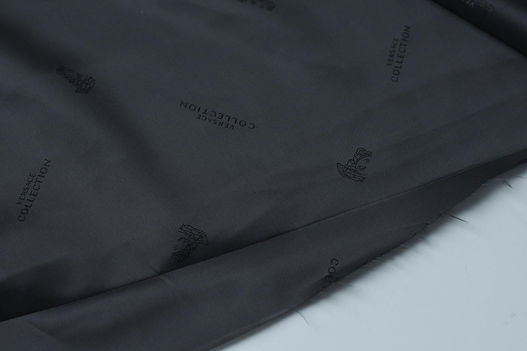 I Was Born To Luxury You Know -  (Black) Viscose Lining