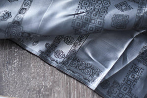 Grids and Paisleys Make A Showing -  Viscose Lining