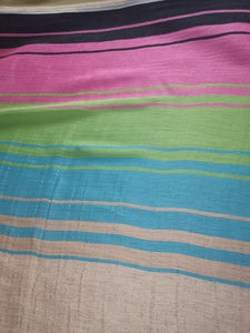 Stack the colourful lines please (Multiples)  - Silk (Panel)