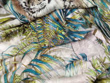 Load image into Gallery viewer, Follow The Rules Of The Jungle -  Linen Jersey