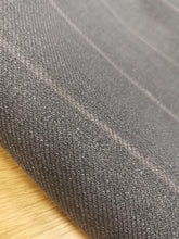 Load image into Gallery viewer, Take Me Back To When Pin Stripes Were The Rage (Grey)-  Wool (3mts)