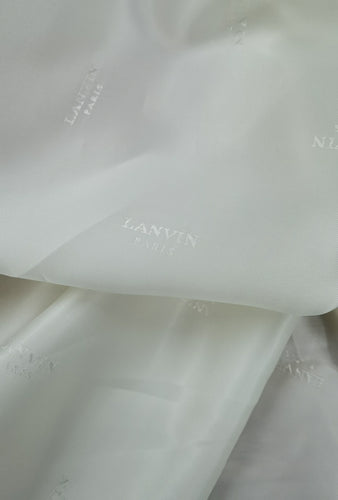 As I Mentioned Earlier, I Am Luxurious -  (Cloud Dancer) Viscose Lining