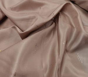 As I Mentioned Earlier, I Am Luxurious -  (Misty Rose) Viscose Lining