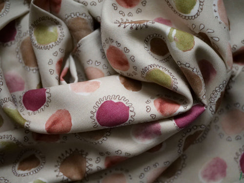 Whimsical Doodles - Viscose Wool