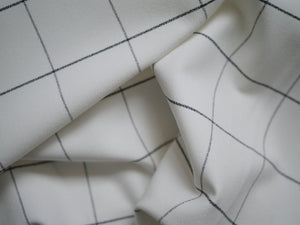 Hugo's Windowpane - Viscose Polyester