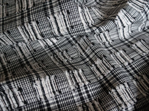 Textured Monochrome - Cotton silk viscose