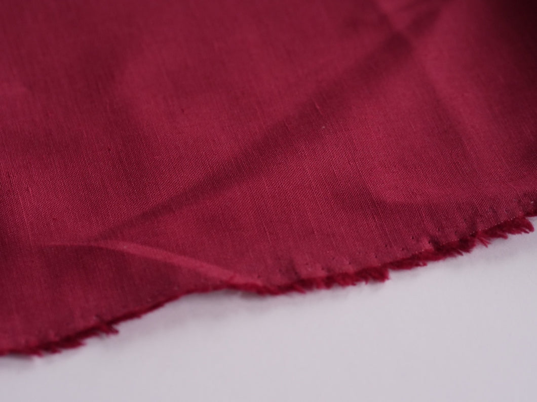 Ancient Egyptians Knew A Thing About Cloth (Cerise)  - Linen
