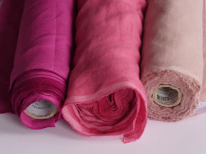Ancient Egyptians Knew A Thing About Cloth (Fuchsia Red)  - Linen