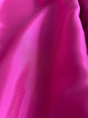Plain As Day, But Gorgeous -  (Fuchsia Rose) Viscose Lining